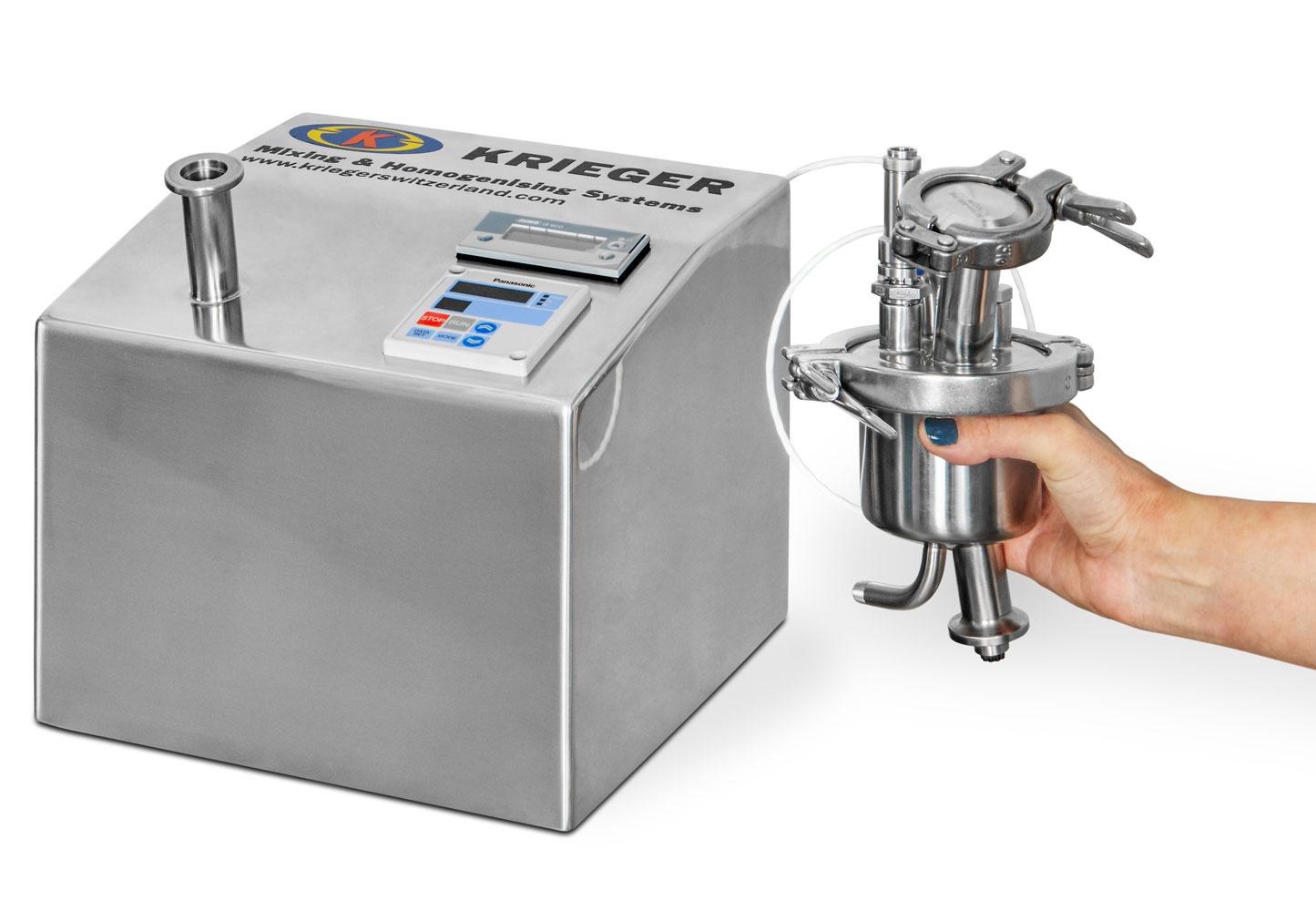 Biologics Micro Mixer 0.1 Liter Krieger Switzerland