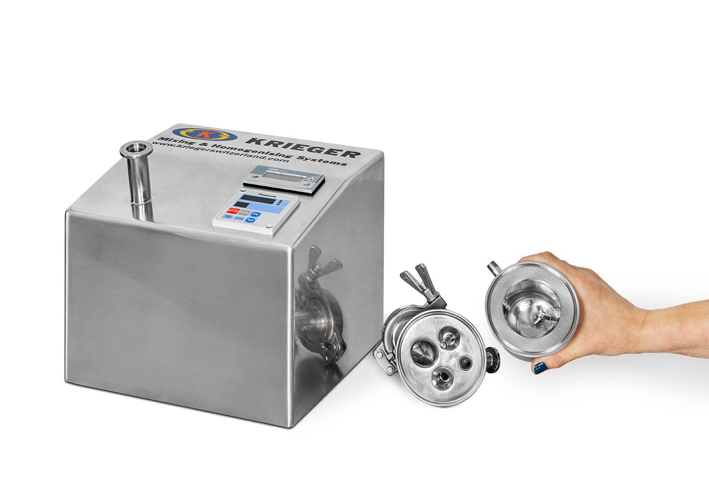 micro mixer inside