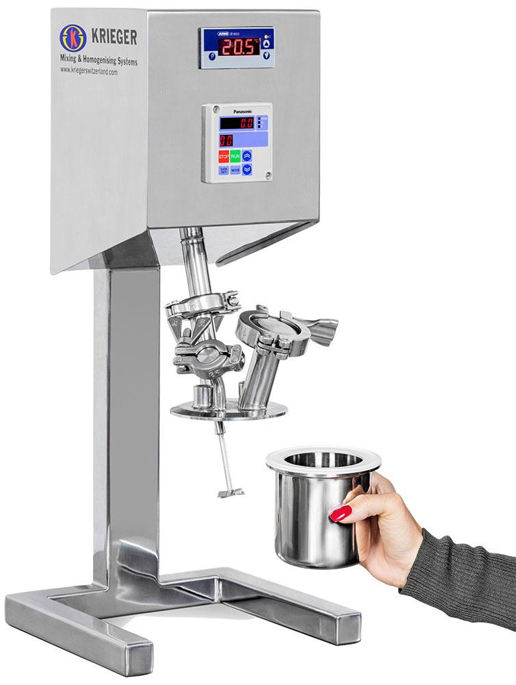 Micro Mixer open